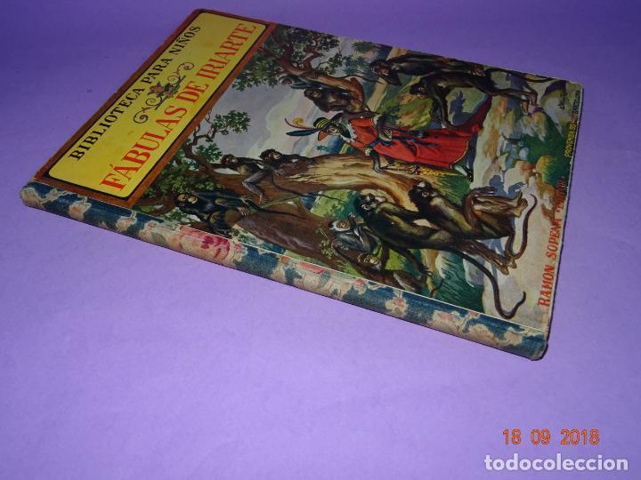 Libros antiguos: COMO VIVEN LOSFÁBULAS DE IRIARTE - 1ª Edición de 1934 Editorial Ramon Sopena BIBLIOTECA PARA NIÑOS - Foto 6 - 133684962