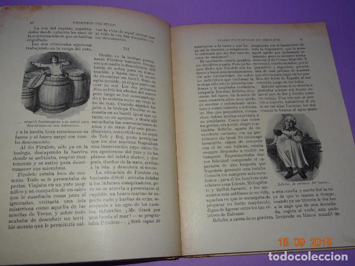 Libros antiguos: LA ISLA DESCONOCIDA - 1ª Edición 1934 Editorial Ramon Sopena BIBLIOTECA PARA NIÑOS - Foto 3 - 133685086