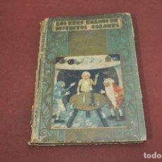 Libros antiguos: LOS TRES ENANOS DE DISTINTOS COLORES Y PLUMA DE ORO - ED. SATURNINO CALLEJA - IEB. Lote 133749994