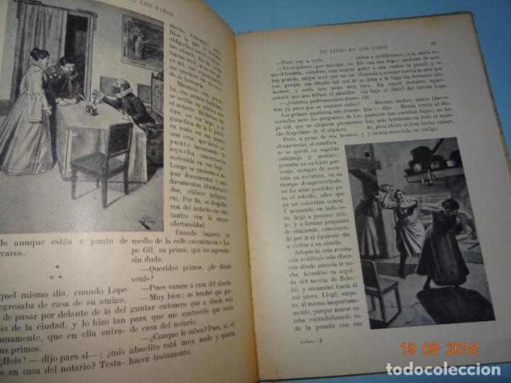 Libros antiguos: EL LIBRO DE LOS NIÑOS de 1930 Editorial Ramon Sopena BIBLIOTECA PARA NIÑOS - Foto 4 - 133867310