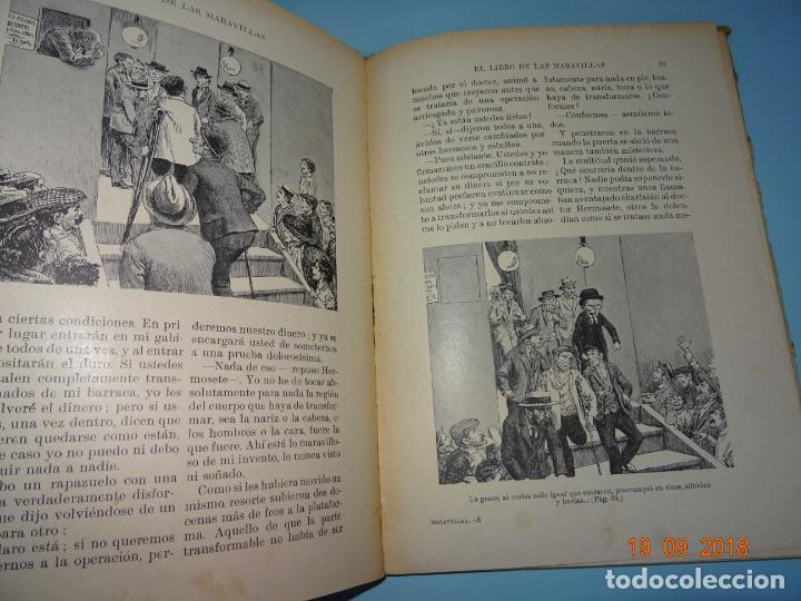Libros antiguos: EL LIBRO DE LAS MARAVILLAS de 1931 Editorial Ramon Sopena BIBLIOTECA PARA NIÑOS - Foto 2 - 133867386