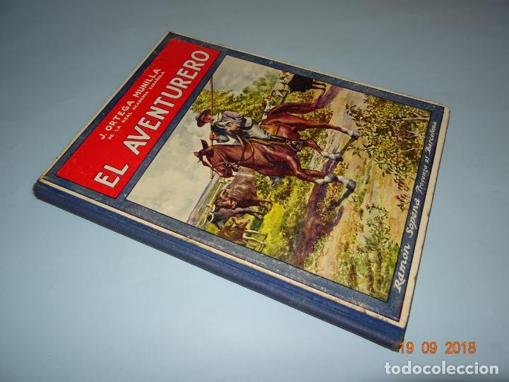 Libros antiguos: EL AVENTURERO de 1930 Editorial Ramon Sopena BIBLIOTECA PARA NIÑOS - Foto 7 - 133867430