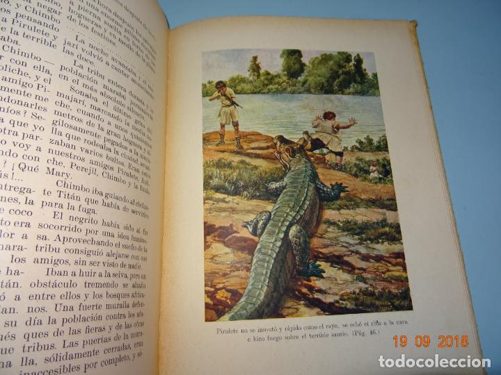 Libros antiguos: EL PAIS DE LOS ANTROPÓFAGOS de 1934 Editorial Ramon Sopena BIBLIOTECA PARA NIÑOS - Foto 3 - 133867514