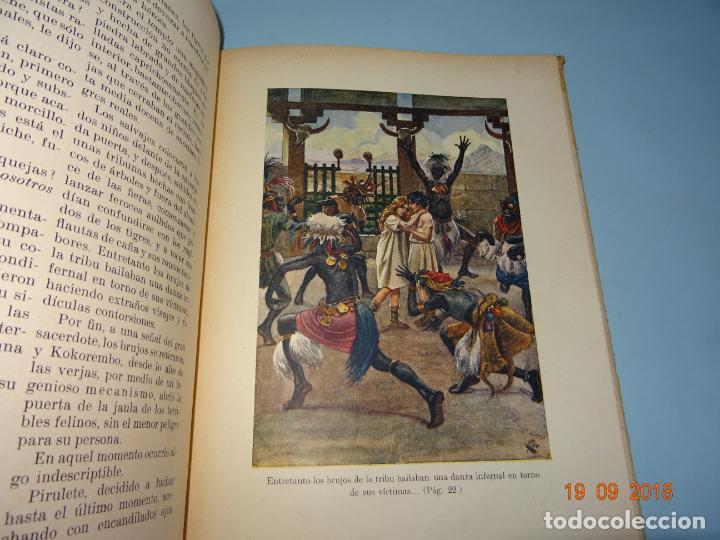 Libros antiguos: EL PAIS DE LOS ANTROPÓFAGOS de 1934 Editorial Ramon Sopena BIBLIOTECA PARA NIÑOS - Foto 5 - 133867514