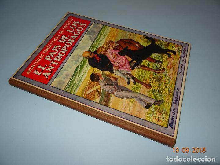 Libros antiguos: EL PAIS DE LOS ANTROPÓFAGOS de 1934 Editorial Ramon Sopena BIBLIOTECA PARA NIÑOS - Foto 6 - 133867514