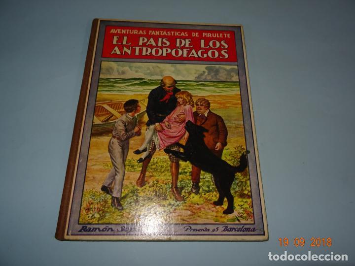 Libros antiguos: EL PAIS DE LOS ANTROPÓFAGOS de 1934 Editorial Ramon Sopena BIBLIOTECA PARA NIÑOS - Foto 7 - 133867514