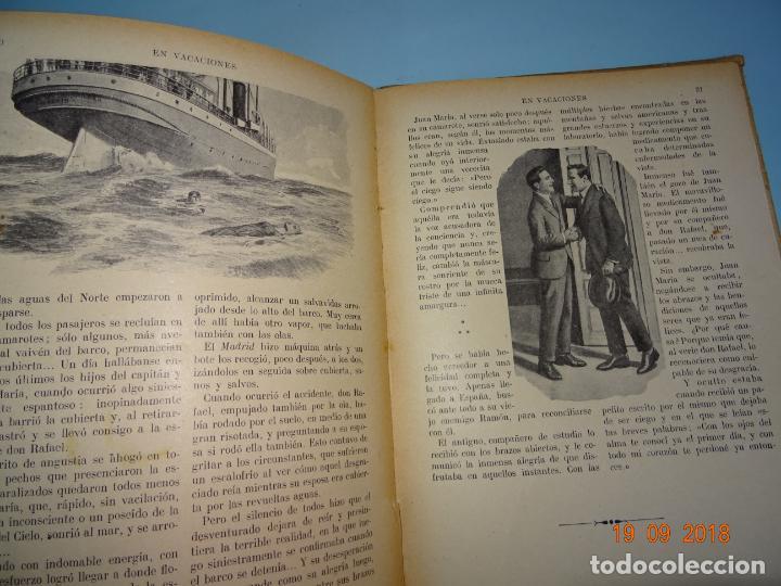 Libros antiguos: EN VACACIONES 1ª Edición de 1934 Editorial Ramon Sopena BIBLIOTECA PARA NIÑOS - Foto 3 - 133867634