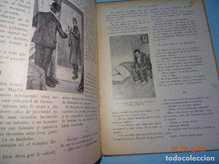 Libros antiguos: EN VACACIONES 1ª Edición de 1934 Editorial Ramon Sopena BIBLIOTECA PARA NIÑOS - Foto 4 - 133867634