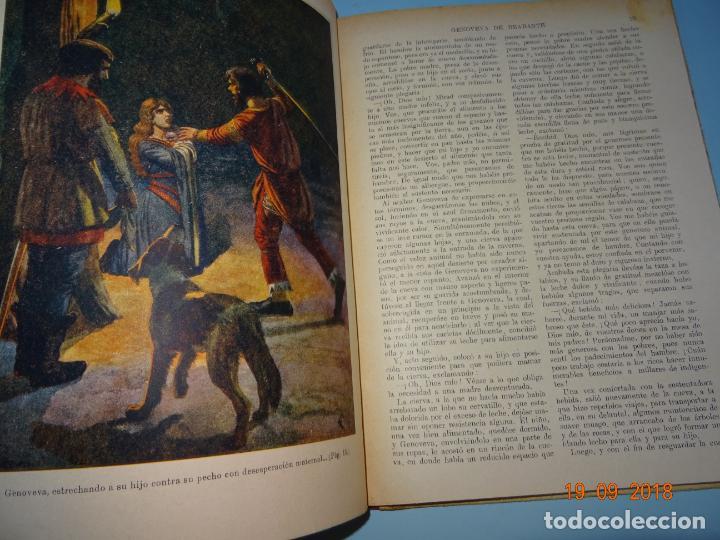 Libros antiguos: GENOVEVA DE BRABANTE 1ª Edición de 1934 Editorial Ramon Sopena BIBLIOTECA PARA NIÑOS - Foto 2 - 133867806
