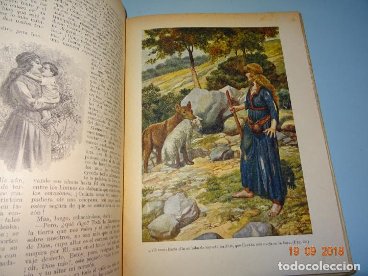 Libros antiguos: GENOVEVA DE BRABANTE 1ª Edición de 1934 Editorial Ramon Sopena BIBLIOTECA PARA NIÑOS - Foto 3 - 133867806