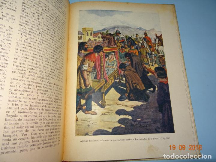 Libros antiguos: GENOVEVA DE BRABANTE 1ª Edición de 1934 Editorial Ramon Sopena BIBLIOTECA PARA NIÑOS - Foto 4 - 133867806