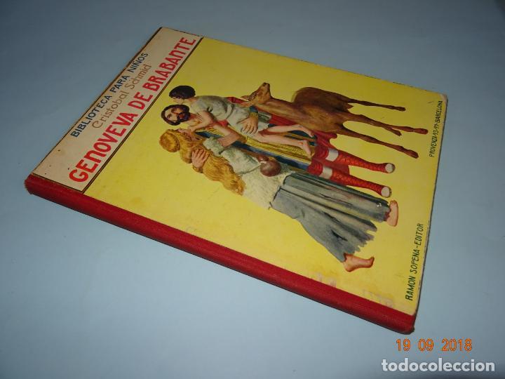 Libros antiguos: GENOVEVA DE BRABANTE 1ª Edición de 1934 Editorial Ramon Sopena BIBLIOTECA PARA NIÑOS - Foto 5 - 133867806