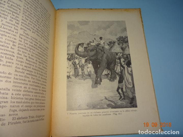 Libros antiguos: LOS MISTERIOS DE LA SELVA 1ª Edición de 1933 Editorial Ramon Sopena BIBLIOTECA PARA NIÑOS - Foto 4 - 133867886