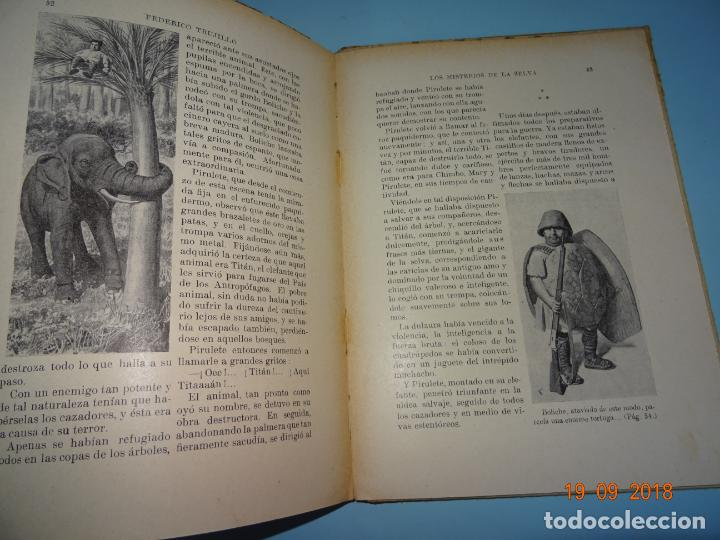 Libros antiguos: LOS MISTERIOS DE LA SELVA 1ª Edición de 1933 Editorial Ramon Sopena BIBLIOTECA PARA NIÑOS - Foto 5 - 133867886