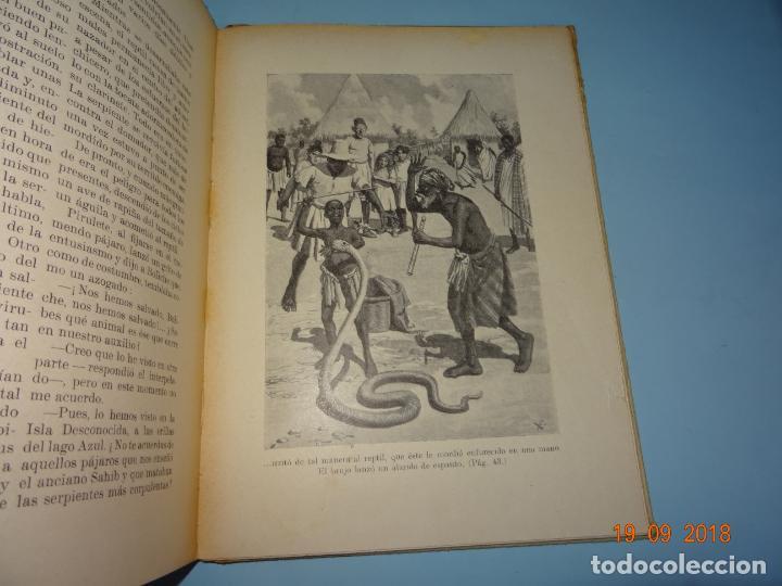 Libros antiguos: LOS MISTERIOS DE LA SELVA 1ª Edición de 1933 Editorial Ramon Sopena BIBLIOTECA PARA NIÑOS - Foto 6 - 133867886