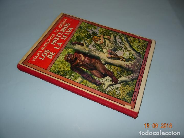 Libros antiguos: LOS MISTERIOS DE LA SELVA 1ª Edición de 1933 Editorial Ramon Sopena BIBLIOTECA PARA NIÑOS - Foto 7 - 133867886