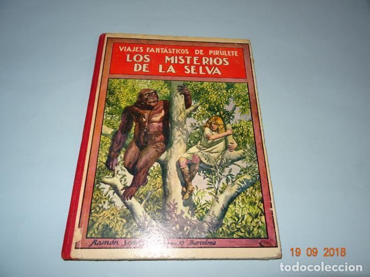 Libros antiguos: LOS MISTERIOS DE LA SELVA 1ª Edición de 1933 Editorial Ramon Sopena BIBLIOTECA PARA NIÑOS - Foto 8 - 133867886