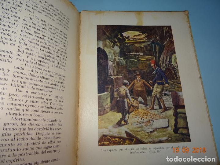 Libros antiguos: LA ISLA DESCONOCIDA 1ª Edición de 1934 Editorial Ramón Sopena BIBLIOTECA PARA NIÑOS - Foto 2 - 133867974