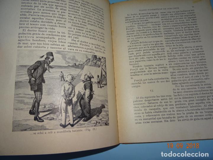 Libros antiguos: LA ISLA DESCONOCIDA 1ª Edición de 1934 Editorial Ramón Sopena BIBLIOTECA PARA NIÑOS - Foto 6 - 133867974