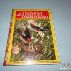 Libros antiguos: LECTURAS INFANTILES 1ª EDICIÓN DE 1930S. EDITORIAL RAMÓN SOPENA BIBLIOTECA PARA NIÑOS. Lote 133927858