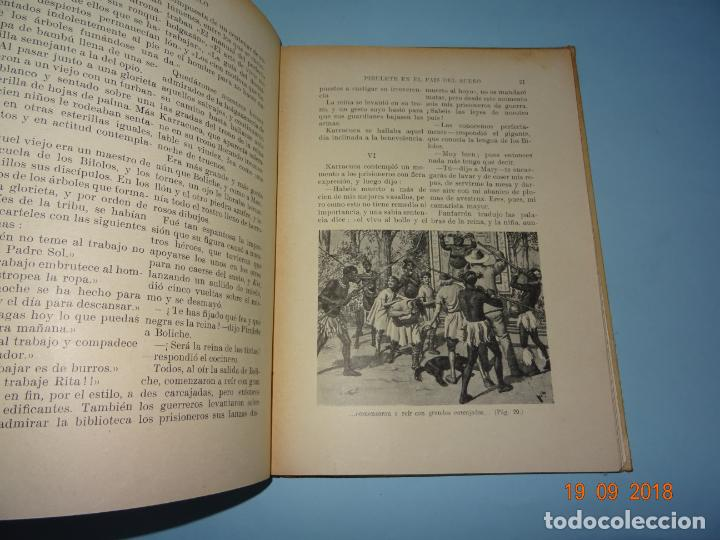 Libros antiguos: PIRULETE EN EL PAIS DEL SUEÑO Y DE LA HOLGANZA 1933 Editorial Ramón Sopena BIBLIOTECA PARA NIÑOS - Foto 2 - 133933086
