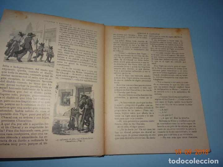 Libros antiguos: CUENOS Y FANTASIAS de 1931 Editorial Ramón Sopena BIBLIOTECA PARA NIÑOS - Foto 3 - 133934146