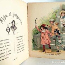 Libros antiguos: PASATIEMPOS DEL DIA DE FIESTA (CUENTO C 1890-1900) ILUSTRACIONES CROMOLITOGRAFÍAS. Lote 134020558