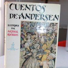 Libros antiguos: CUENTOS DE ANDERSEN ILUSTRADOS POR ARTHUR RACKHAM. ED. JUVENTUD 1962 7ª ED. INF. DETALLADA. 27 FOTOS. Lote 134081422