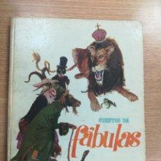 Libros antiguos: CUENTOS DE FABULAS (ILUSTRACIONES JUAN DOMINGO RUBIES) (EDITORIAL MOLINO - 1964). Lote 134310038