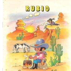 Libros antiguos: LIBRETA / CUADERNO RUBIO. DIBUJO Nº 09. - USADO - (P/D47). Lote 134769322