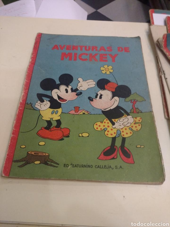 AVENTURAS DE MICKEY .ED SATURNINO CALLEJA . N 1 (Libros Antiguos, Raros y Curiosos - Literatura Infantil y Juvenil - Cuentos)