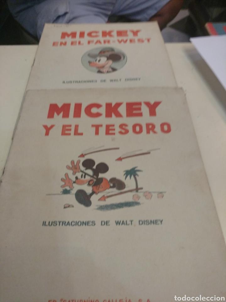 2 CUENTOS DE MICKEY ED.SATURNINO CALLEJA. (Libros Antiguos, Raros y Curiosos - Literatura Infantil y Juvenil - Cuentos)