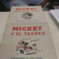 Libros antiguos: 2 CUENTOS DE MICKEY ED.SATURNINO CALLEJA.. Lote 134782507