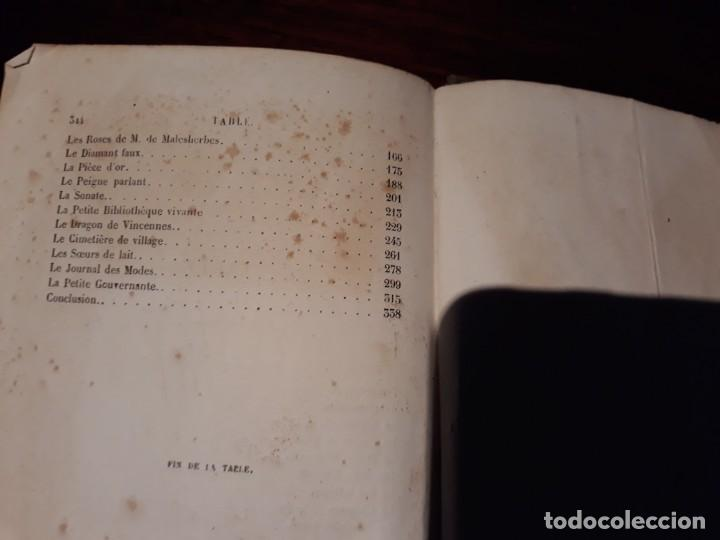 Libros antiguos: CONTES A MA FILLE - J.N.BOUILLY - SIGLO XIX - ILUSTRADO CON BONITOS GRABADOS. - Foto 8 - 134911634