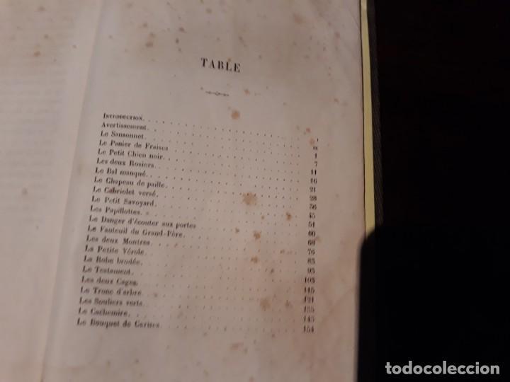 Libros antiguos: CONTES A MA FILLE - J.N.BOUILLY - SIGLO XIX - ILUSTRADO CON BONITOS GRABADOS. - Foto 9 - 134911634