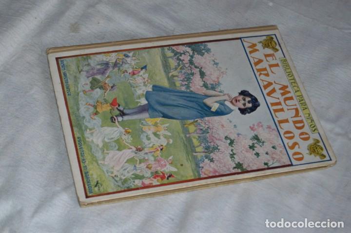 ANTIGUO CUENTO INFANTIL - EL MUNDO MARAVILLOSO - EDITORIAL RAMÓN SOPENA - 1935 - VINTAGE - ENVÍO24H (Libros Antiguos, Raros y Curiosos - Literatura Infantil y Juvenil - Cuentos)