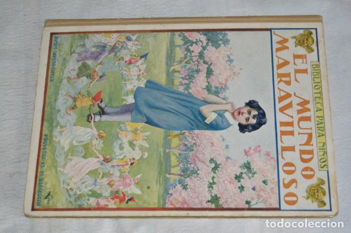 Libros antiguos: ANTIGUO CUENTO INFANTIL - EL MUNDO MARAVILLOSO - EDITORIAL RAMÓN SOPENA - 1935 - VINTAGE - ENVÍO24H - Foto 2 - 134983786