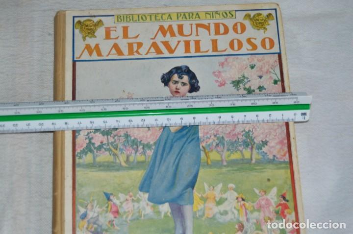 Libros antiguos: ANTIGUO CUENTO INFANTIL - EL MUNDO MARAVILLOSO - EDITORIAL RAMÓN SOPENA - 1935 - VINTAGE - ENVÍO24H - Foto 5 - 134983786