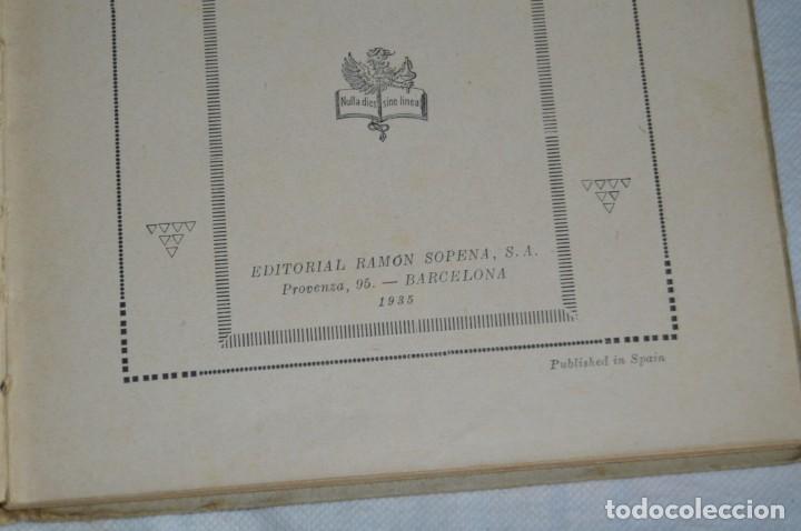 Libros antiguos: ANTIGUO CUENTO INFANTIL - EL MUNDO MARAVILLOSO - EDITORIAL RAMÓN SOPENA - 1935 - VINTAGE - ENVÍO24H - Foto 10 - 134983786