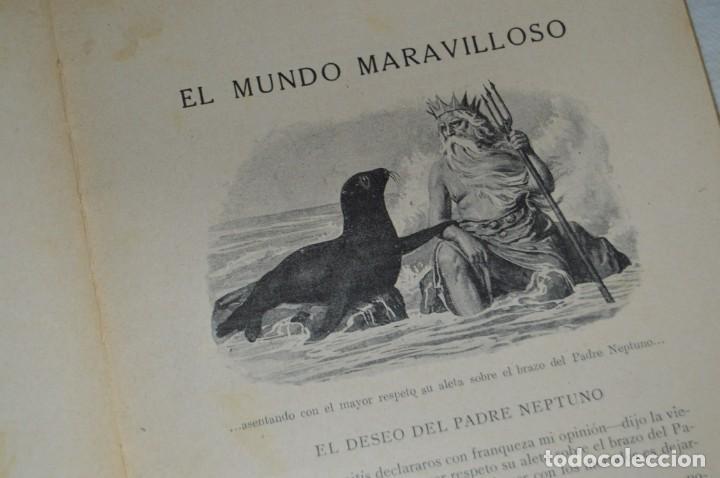 Libros antiguos: ANTIGUO CUENTO INFANTIL - EL MUNDO MARAVILLOSO - EDITORIAL RAMÓN SOPENA - 1935 - VINTAGE - ENVÍO24H - Foto 11 - 134983786