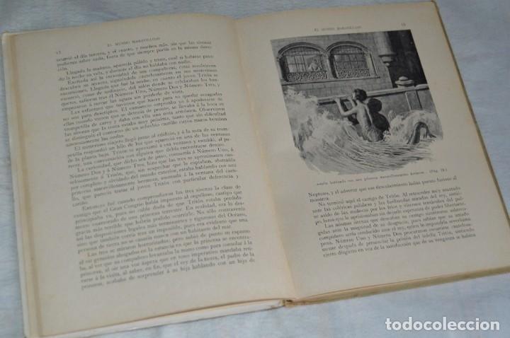 Libros antiguos: ANTIGUO CUENTO INFANTIL - EL MUNDO MARAVILLOSO - EDITORIAL RAMÓN SOPENA - 1935 - VINTAGE - ENVÍO24H - Foto 12 - 134983786