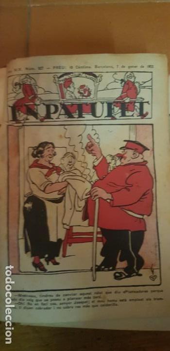 Libros antiguos: PATUFET 50 REVISTAS DEL Nº 927 GENER 1922 AL Nº 976 DESEMBRE 1922 ANY COMPLET - Foto 2 - 135052958