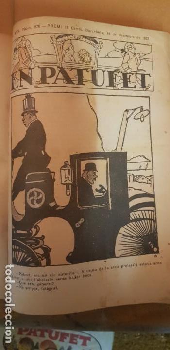 Libros antiguos: PATUFET 50 REVISTAS DEL Nº 927 GENER 1922 AL Nº 976 DESEMBRE 1922 ANY COMPLET - Foto 3 - 135052958