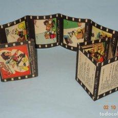 Libros antiguos: CALLEJA CINE, EVASIÓN DE WALT DISNEY COLECCIÓN PELÍCULAS EN COLORES DESPLEGABLE DE SATURNINO CALLEJA. Lote 135164470