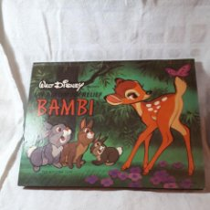 Libros antiguos: BAMBI, DE WALT DISNEY, EN POP-UP. Lote 135400674