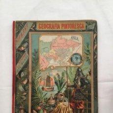 Libros antiguos: GEOGRAFÍA PINTORESCA DE ASIA. J. BASTINOS 1887.. Lote 135455054
