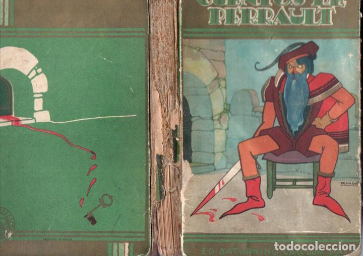 Libros antiguos: CUENTOS DE PERRAULT CALLEJA PERLA ILUSTRADOS POR PENAGOS (1936) - Foto 2 - 135571186
