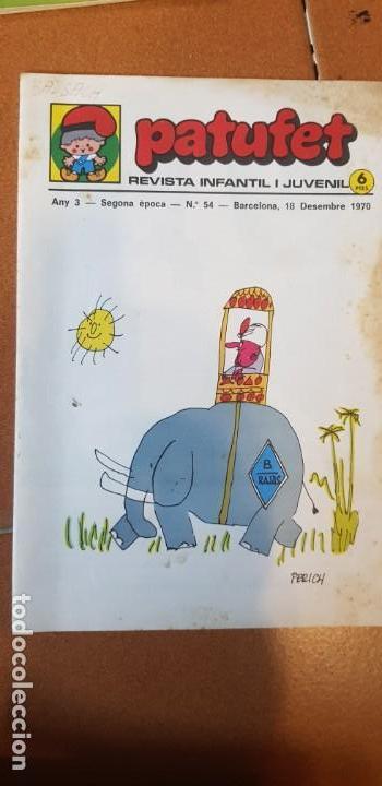 Libros antiguos: PATUFET 1970 COMPLET 28 REVISTES DEL Nº 29 AL 54 + CALENDARI + EXTRA PASQUA - Foto 3 - 135710031