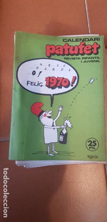 PATUFET 1970 COMPLET 28 REVISTES DEL Nº 29 AL 54 + CALENDARI + EXTRA PASQUA (Libros Antiguos, Raros y Curiosos - Literatura Infantil y Juvenil - Cuentos)