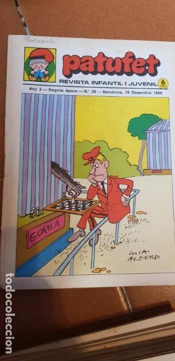 Libros antiguos: PATUFET 1968-1969 COMPLET 28 REVISTES DEL Nº1 AL Nº 28 - Foto 2 - 135710703